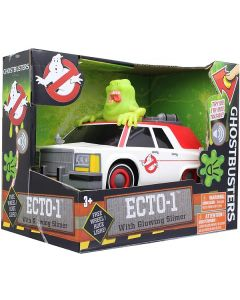 Ghostbusters  Ecto-1 with Glowing Slimer