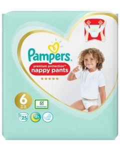 Pampers Nappy Pants Size 6  2 x 25pk