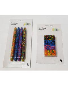 Tiger Marble Crayons 24pk