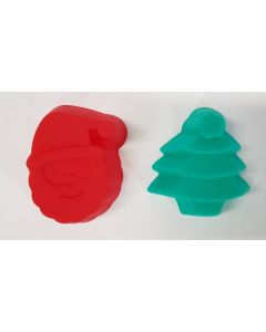 Tiger Silicone Christmas Muffin Moulds 24 x 6pk