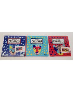 Tiger Magnetic Jigsaw Puzzle 3 Designs 48pk