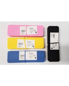 Tiger Silicone Pencil Case 4 Colours 18pk