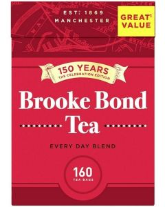 Brooke Bond Tea Bags 8 x 160pk
