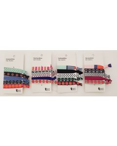 Tiger Hair Elastics 4 Colours 48 x 5pk
