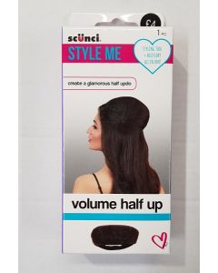 Scunci Style Me Volume Half Up