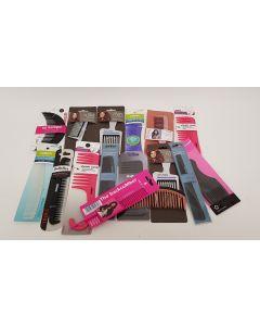 Lucky Dip Box of Hair Combs 15pk