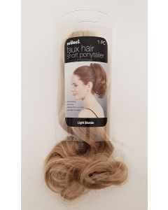 "Faux Hair 11"" Ponytail Light Blonde"