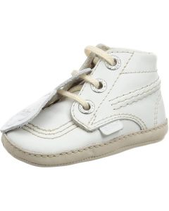Kickers Bonnie B Lace Leather White/Cream EU16