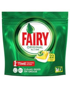 Fairy All in One Dishwasher Tablets 5 x 22pk