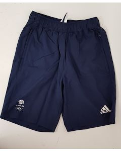 Adidas Team GB Mens Shorts Navy UK 36-38