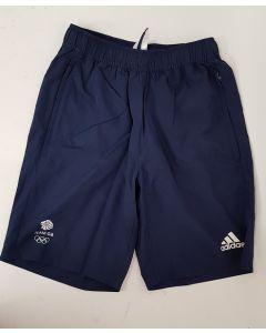 Adidas Team GB Mens Shorts Navy UK 48-50
