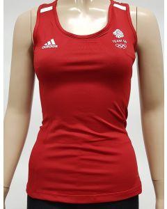 Adidas Team GB Womens Running Top X Small