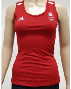 Adidas Team GB Womens Running Top size 2XS