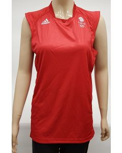 Adidas Team GB Mens Volleyball Vest UK Medium