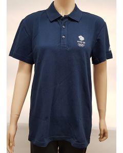 Adidas Team GB Womens Polo Shirt UK 8