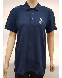 Adidas Team GB Mens Polo Shirt UK 50-52