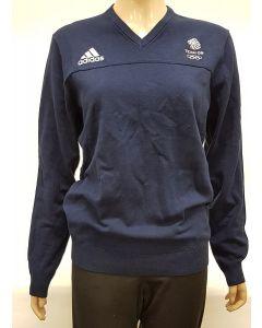 Adidas Team GB Jumper Navy  Small