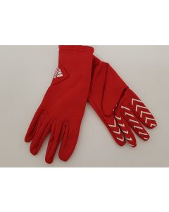 Adidas Team GB Gloves Red UK Small