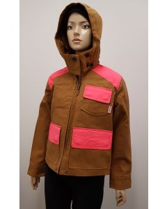 Hunter Original Ladies Hunt Jacket Ochre UK6