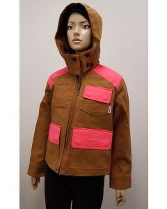 Hunter Original Ladies Hunt Jacket Ochre UK10