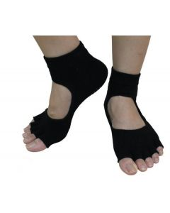 YogaAddict Toeless Socks Graceful S/M 2pk
