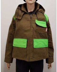 Hunter Original Ladies Hunt Jacket Khaki UK10
