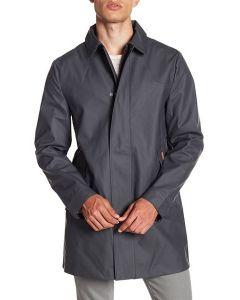 Hunter Men's Rubberised Raincoat Black M