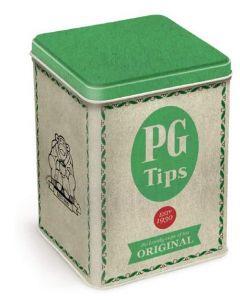 PG Tips Vintage Tin Tea Caddy 45pk