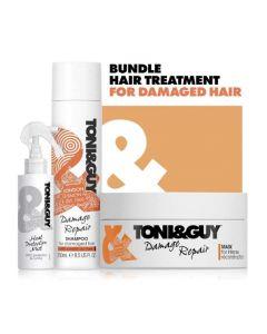 Toni & Guy 3 Step Regime Damage Repair Hair Kit
