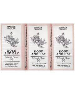 M&S Rose & Bay Fragranced Pocket Tissues 24x6pk