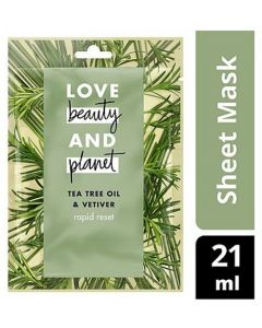 Love Beauty Planet Rapid Face Cleansing Mask 40pk