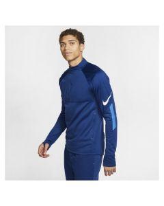 Nike Men's Therma Shield Drill Top Blue L