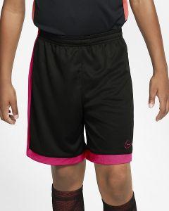 Nike Boy's Dri-FIT Academy Shorts Black/Pink M