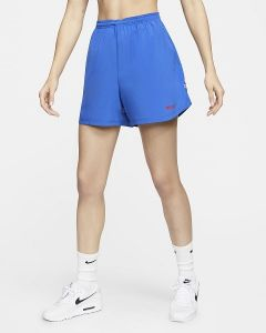 Nike FC Ladies Football Shorts Blue XS