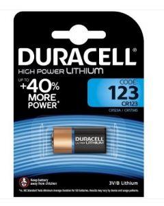 Duracell CR123 High Power Lithium Battery