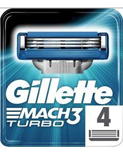 Gillette Mach 3 Turbo Blades 10x4pk
