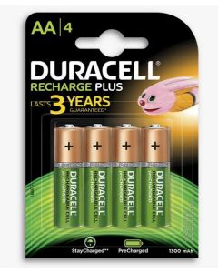 Duracell Rechargeable AA Batteries 4pk