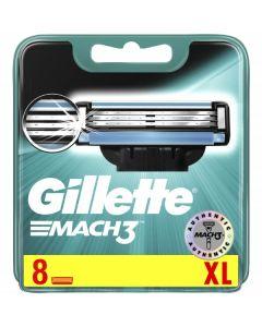 Gillette Mach 3 Cartridges 10x8pk
