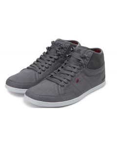Boxfresh Mens SWAPP 3 Trainer Grey/Cherry Red UK 6