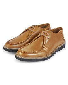 Kickers Mens Kwamie Lo Mocc Shoes Tan EU40