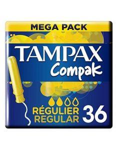 Tampax Compak Regular Tampons 12 x 36pk