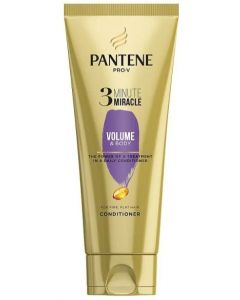Pantene 3 Minute Miracle Volume Conditionr 6x200ml