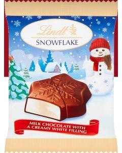 Lindt Double Milk Snowflake 33pk