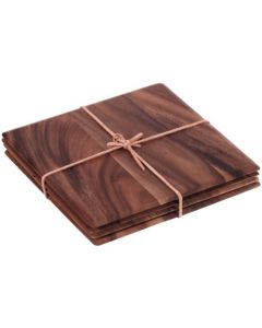 Acacia Table Mats 6 x 4pk