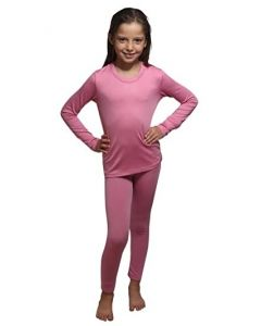 Kids Thermal Set Pink 12-14yrs