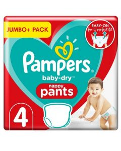 Pampers Baby Dry Nappy Pants Size 4+ 152pk