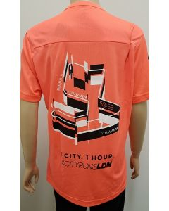Adidas City Runs Event T Shirt Orange XSmall 50pk