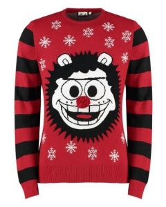 Beano Adult Gnasher Christmas Jumper Small