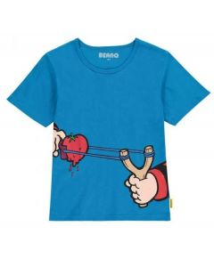 Beano Kids Catapult T Shirt Blue Small