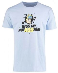 Beano Bananaman Kiss My PotASSium T Shirt Small